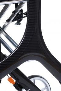 Rollator Carbon Carbon-Look